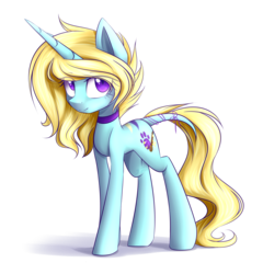 Size: 3561x3705 | Tagged: safe, artist:snowbunny0820, oc, oc only, oc:reyna bluw, pony, unicorn, female, high res, mare, simple background, solo, transparent background