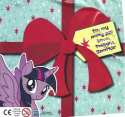 Size: 559x522   Tagged: safe, twilight sparkle, alicorn, magazine, magazine scan, official, sad onion, scan, solo, twilight sparkle (alicorn)