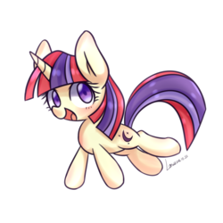 Size: 1000x1000 | Tagged: artist:lan wu, cute, dancerbetes, female, filly, filly moondancer, moondancer, safe, simple background, solo, white background, younger