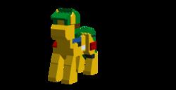 Size: 1126x576 | Tagged: safe, artist:jerkface, oc, oc only, oc:blocky bits, lego, simple background, transparent background
