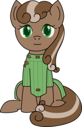 Size: 778x1200 | Tagged: 2018 community collab, artist:lucern, derpibooru community collaboration, earth pony, oc, oc:chivalric ward, oc only, pony, safe, simple background, sitting, solo, transparent background
