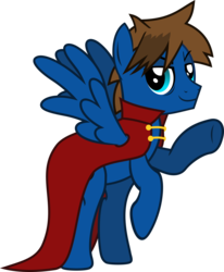 Size: 989x1201 | Tagged: safe, artist:lightningbolt, derpibooru exclusive, oc, oc only, oc:bizarre song, pegasus, pony, 2018 community collab, derpibooru community collaboration, .svg available, bags under eyes, cape, clothes, looking at you, male, raised hoof, rearing, simple background, solo, spread wings, stallion, svg, transparent background, vector, waving, wings