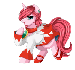 Size: 2030x1902   Tagged: safe, artist:pridark, oc, oc only, oc:diamond stellar, pony, unicorn, commission, female, final fantasy, high heels, jewelry, mare, open mouth, shoes, simple background, smiling, transparent background, white mage