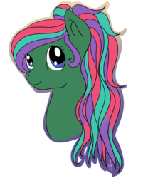 Size: 870x1080 | Tagged: safe, artist:silversthreads, oc, oc only, oc:sea jade, sea pony, bust, simple background, solo, transparent background