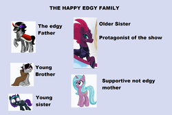 Size: 1705x1136 | Tagged: safe, artist:cheezedoodle96, artist:lightningbolt, edit, idw, fizzlepop berrytwist, king sombra, radiant hope, shadow lock, tempest shadow, oc, oc:nyx, alicorn, pony, unicorn, my little pony: the movie, spoiler:comic, /mlp/, alicorn oc, colored pupils, eye scar, family, female, headcanon, hopebra, male, mare, pretty pretty tempest, scar, shipping, stallion, straight, unshorn fetlocks