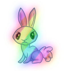 Size: 1080x1200 | Tagged: 2018 community collab, artist:hawthornbunny, derpibooru community collaboration, oc, oc:hawthornbunny, oc only, rabbit, rabbit oc, safe, simple background, solo, transparent background
