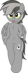 Size: 2503x6399 | Tagged: 2018 community collab, artist:digiqrow, belly button, bipedal, chest fluff, derpibooru community collaboration, derpibooru exclusive, oc, oc:greyscale, oc only, pegasus, pony, safe, simple background, transparent background