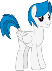 Size: 1913x2635 | Tagged: safe, artist:frownfactory, oc, oc only, oc:stratagem, pegasus, pony, 2018 community collab, derpibooru community collaboration, .svg available, male, simple background, solo, stallion, svg, tail wrap, transparent background, vector, wings