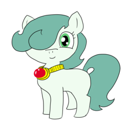 Size: 1200x1200 | Tagged: 2018 community collab, artist:ficficponyfic, derpibooru community collaboration, earth pony, oc, oc:emerald jewel, oc only, pony, safe, simple background, transparent background