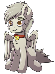 Size: 1696x2298 | Tagged: 2018 community collab, artist:meow, derpibooru community collaboration, derpibooru exclusive, oc, oc:bolt the super pony, oc only, pegasus, pony, safe, simple background, solo, transparent background