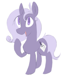 Size: 1000x1100 | Tagged: 2018 community collab, artist:illusion, derpibooru community collaboration, female, mare, oc, oc:chalk script, oc only, pony, safe, simple background, solo, transparent background, unicorn