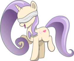 Size: 6575x5448 | Tagged: 2018 community collab, absurd res, ambiguous gender, artist:cinderfall, blindfold, derpibooru community collaboration, heart, oc, oc only, pony, request, safe, simple background, solo, transparent background, unicorn, vector
