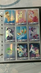 Size: 960x1706   Tagged: safe, applejack, fluttershy, pinkie pie, princess skystar, queen novo, rainbow dash, rarity, spike, twilight sparkle, alicorn, puffer fish, seapony (g4), my little pony: the movie, card, chinese, mane seven, mane six, seaponified, seapony applejack, seapony fluttershy, seapony pinkie pie, seapony rainbow dash, seapony rarity, seapony twilight, species swap, spike the pufferfish, twilight sparkle (alicorn)