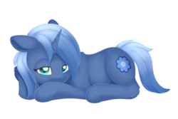 Size: 1024x685   Tagged: safe, artist:dusthiel, oc, oc only, oc:paamayim nekudotayim, pony, floppy ears, lying down, prone, simple background, solo, transparent background