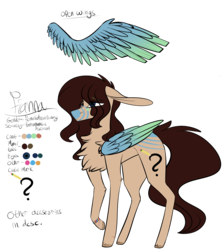 Size: 2480x2777 | Tagged: safe, artist:sweetmelon556, oc, oc only, oc:fianna, pegasus, pony, female, high res, mare, reference sheet, simple background, solo, transparent background