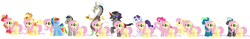Size: 5188x810 | Tagged: absurd res, applejack, applejack (male), appleshy, appleshy (straight), artist:roseprincessmitia, big macintosh, bubble berry, bubbleshy, butterscotch, discord, discoshy, elushy, elusive, female, flarity, flutterblitz, flutterdash, fluttermac, flutterpie, flutterscotch, fluttershy, fluttershy gets all the stallions, fluttersky, half r63 shipping, king sombra, male, pinkie pie, pony discord, rainbow blitz, rainbow dash, rarity, rule 63, safe, selfcest, self ponidox, shipping, simple background, sky stinger, sombrashy, straight, thunderlane, thundershy, white background