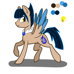 Size: 2000x2000 | Tagged: safe, artist:chelseawest, oc, oc only, oc:blue flare, pegasus, pony, colored wings, female, high res, mare, multicolored wings, reference sheet, simple background, solo, transparent background