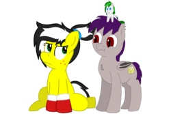 Size: 3000x2000 | Tagged: 2018 community collab, artist:coldfire, artist:toyminator900, bat pony, derpibooru community collaboration, earth pony, oc, oc:coldfire (bat pony), oc only, oc:soothing leaf, oc:uppercute, plushie, pony, safe, simple background, transparent background, uppercold