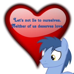 Size: 892x900 | Tagged: safe, edit, blues, noteworthy, crystal pony, anti-valentine, clarity, frown, heart, lasty's hearts, raised eyebrow, simple, simple background, solo, transparent background, valentine, valentine's day, wide eyes