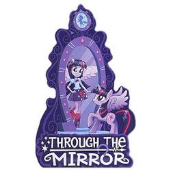 Size: 270x270 | Tagged: safe, twilight sparkle, equestria girls, equestria girls (movie), book, human ponidox, magic mirror, self ponidox, through the mirror, twilight sparkle (alicorn)