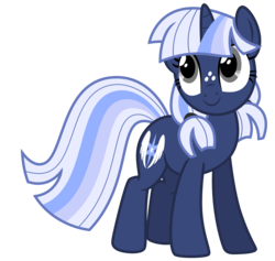 Size: 6721x6373   Tagged: safe, artist:estories, oc, oc only, oc:silverlay, original species, pony, umbra pony, unicorn, absurd resolution, alternate hairstyle, cute, female, mare, ocbetes, silvabetes, simple background, solo, transparent background, vector