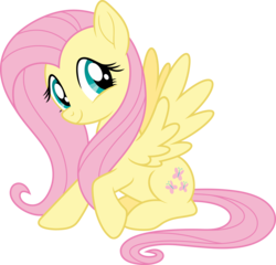 Size: 7000x6719   Tagged: safe, artist:luckreza8, fluttershy, my little pony: the movie, .svg available, absurd resolution, cute, female, shyabetes, simple background, smiling, solo, transparent background, vector