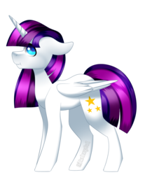 Size: 1024x1236 | Tagged: safe, artist:itsizzybel, oc, oc only, oc:twily star, alicorn, pony, alicorn oc, blue eyes, commission, cute, female, looking at you, mare, simple background, solo, transparent background
