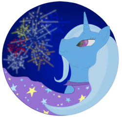 Size: 1150x1100 | Tagged: safe, artist:virenth, trixie, pony, cape, clothes, female, solo, trixie's cape