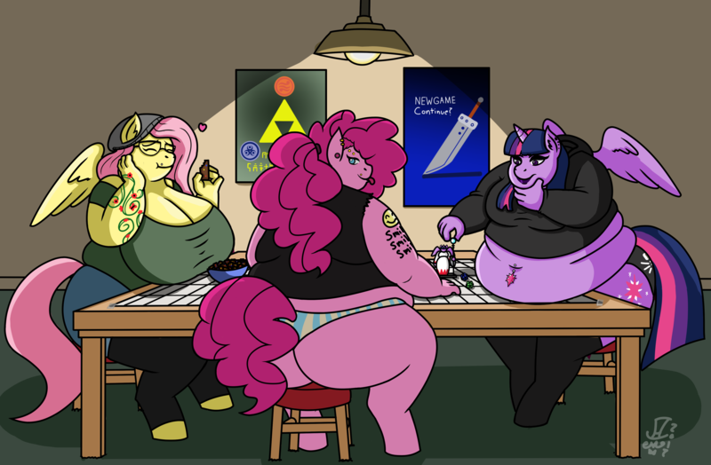 Busty Big Ass Threesome