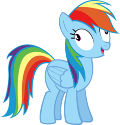Size: 873x915 | Tagged: safe, artist:moongazeponies, rainbow dash, pegasus, pony, fall weather friends, .svg available, derp, female, rainbow dash is best facemaker, rainbow derp, simple background, solo, transparent background, vector