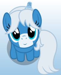 Size: 1212x1494 | Tagged: safe, artist:badumsquish, derpibooru exclusive, oc, oc only, oc:notification, earth pony, pony, badumsquish's kitties, derpibooru ponified, female, happy, looking at you, looking up, part of a set, sitting, smiling, solo