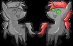 Size: 779x500 | Tagged: safe, artist:charrez, oc, oc only, oc:charrez, pony, unicorn, colored sketch, cutie mark, pointy ponies, rough sketch, simple background, transparent background