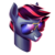 Size: 512x512   Tagged: safe, artist:makkon, oc, oc only, oc:aviators, pegasus, pony, bust, glasses, male, portrait, simple background, solo, stallion, sunglasses, transparent background