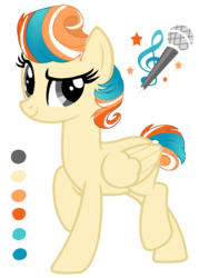 Size: 903x1259   Tagged: safe, artist:ifijustlayhere, oc, oc only, oc:santana, pegasus, pony, female, mare, reference sheet, simple background, solo, transparent background