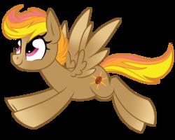 Size: 1024x819   Tagged: safe, artist:kellythedrawinguni, oc, oc only, oc:mocha sunrise, pegasus, pony, female, mare, simple background, solo, transparent background