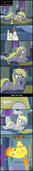 Size: 1781x9121 | Tagged: absurd res, artist:toxic-mario, bondage, book, candle, comic, comic:toxic-mario's derpfire shipwreck, cute, cutie mark, derpy hooves, dialogue, female, filly, filly derpy, filly spitfire, glow, hogtied, night, pony, rope, safe, spitfire, spitfire's hair is fire, suspended, teenage derpy hooves, teenage spitfire, tied up