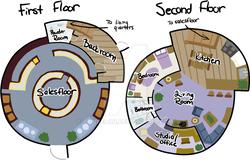 Size: 900x575 | Tagged: safe, artist:tambelon, building, floor plan, house, shop, watermark