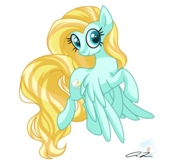 Size: 1400x1350 | Tagged: safe, artist:iheartjapan789, oc, oc only, oc:golden dust, pegasus, pony, female, mare, simple background, smiling, solo, transparent background