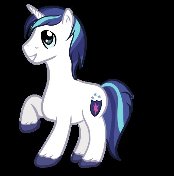 My little pony stallion unicorn