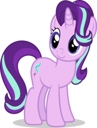 Size: 7000x9191 | Tagged: safe, artist:luckreza8, starlight glimmer, pony, unicorn, celestial advice, absurd resolution, cute, female, glimmerbetes, mare, simple background, smiling, solo, transparent background, vector