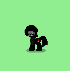 Size: 393x397 | Tagged: safe, pony town, kylo ren, star wars: the force awakens