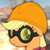 Size: 1054x1054 | Tagged: safe, artist:avastindy, editor:moonatik, applejack, pony, bust, engiejack, engineer, hard hat, profile picture, solo, team fortress 2, upward, vector