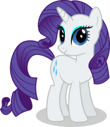 Size: 7000x8067 | Tagged: safe, artist:luckreza8, rarity, pony, absurd resolution, eyeshadow, female, looking at you, makeup, simple background, smiling, solo, transparent background, vector