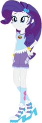 Size: 190x556   Tagged: safe, artist:ra1nb0wk1tty, rarity, equestria girls, legend of everfree, boots, bracelet, camp everfree outfits, clothes, female, hand on hip, jewelry, raised leg, shorts, simple background, socks, solo, white background