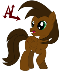 Size: 1280x1457 | Tagged: 2018 community collab, artist:andyslife, derpibooru community collaboration, male, oc, oc only, oc:parallel andy, pegasus, pony, raised hoof, safe, simple background, solo, stallion, transparent background, vector