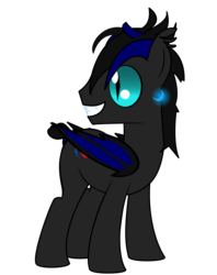 Size: 3955x5000 | Tagged: absurd res, artist:andyslife, bat pony, oc, oc only, oc:umbra nights, pony, safe, simple background, solo, transparent background