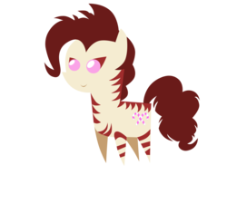 Size: 3000x2700 | Tagged: safe, artist:aborrozakale, oc, oc only, oc:rampage, zebra, fallout equestria, high res, pointy ponies, simple background, solo, transparent background