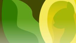 Size: 3840x2160 | Tagged: safe, artist:badumsquish, derpibooru exclusive, oc, oc only, monster pony, original species, plant pony, skunk cabbage pony, aphrodisiac, bust, female, flower, minimalist, modern art, musk, portrait, simple, skunk cabbage, solo, wallpaper