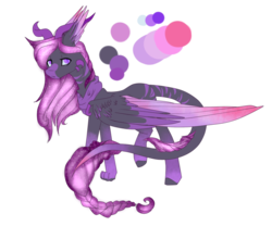 Size: 1024x853 | Tagged: safe, artist:xxmissteaxx, oc, oc only, oc:eter, draconequus, female, reference sheet, simple background, solo, transparent background