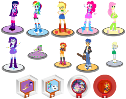Size: 2332x1834 | Tagged: safe, artist:tdgirlsfanforever, applejack, derpy hooves, flash sentry, fluttershy, pinkie pie, rainbow dash, rarity, spike, sunset shimmer, tennis match, twilight sparkle, velvet sky, dog, equestria girls, balloon, big crown thingy, boots, bowtie, bracelet, bubble, clothes, compression shorts, cowboy boots, cowboy hat, crossed arms, crown, cute, cutie mark, denim skirt, devil's fork, disney infinity, eqg promo pose set, fall formal, fall formal outfits, football, guitar case, hat, high heel boots, jacket, jewelry, leather jacket, leg warmers, looking at you, muffin, necktie, pants, ponied up, pony ears, ponytail, raised leg, regalia, sandals, shoes, skirt, sneakers, socks, spike the dog, stetson, this is our big night, top hat, wings, wristband